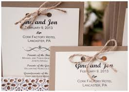 Unique Winter Wedding Invitations Rustic