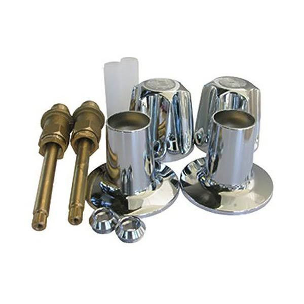 Larsen Supply 2 Valve Tub and Shower Handle Kit
