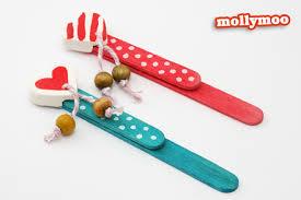 DIY Craft Stick Bookmark For Kids To Make