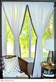 Plum And Bow Blackout Pom Pom Curtains by Pom Tassel Curtain Window Pom Pom Curtains And Panel Curtains