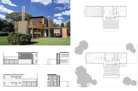 100 Modern Residential Architecture Floor Plans RES4 Resolution 4 Case Study Houses