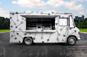 100 Burger Food Truck PSD Design Mockup EyMockup