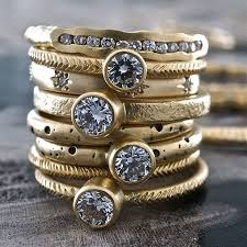 Top Rustic Gold Solitaire Rings Sarah Swell Rebecca Overmann 2 More Maxwells Daily Find Apartment Therapy Main