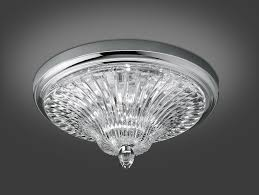 Nella Vetrina Italamp 206 PL modern ceiling light in clear crystal