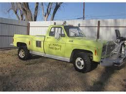 100 Trucks For Sale In Oklahoma 1977 Chevrolet K30 Fire Truck For ClassicCarscom