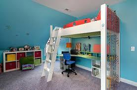 bureau avec ag es lit mezzanine ado design idee lit mezzanine avec bureau 20