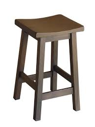 NEW Tokyo Mocha Wooden Japanese Style Shabby Rustic Kitchen Chair BAR Stool