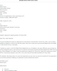 Police Officer Resume Template Cover Letter