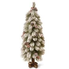 6 Ft Flocked Christmas Tree Uk by Flocked Christmas Trees You U0027ll Love Wayfair
