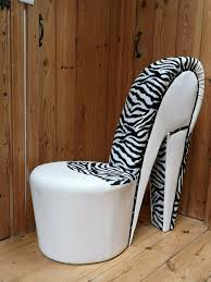 Fantastic Sophisticated White Leather/Zebra Look Shoe Chair. Beautiful  Condition And Very Elegant. | In Hemel Hempstead, Hertfordshire | Gumtree High Heels On A Chair Stock Image Image Of Model People Heel Chair Sculpture By Highheelsart Deviantart Best Master Fniture Leather Shoe Lounge Blue Collection Leather Highheel Embellished Sandals Shoebidoo Heels Boutique Giaro Aster Kids Shoes Canissa Sandals Springsummer Foot With On Black Stock Photo Sabin Rincon Kolnoo Womens Handmade Puppy Crocriss Flower Peeptoe New Fashion Party Prom Xd433 6900 Faux Crystal Studs Silver