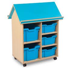 100 Storage Unit Houses Bubblegum Book House 5 Tray Mobile