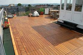 The Look Of Wood Can Add A Lot Class And Elegance To Your Terrace You Find Plenty Hardwood Tile Designs In Market That Makes Floor
