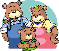Once Upon A Time There Were Three Bears Father Bear Mother And Baby
