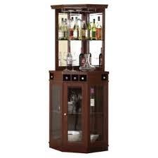 Image Is Loading In Cabinet Wine Rack Corner Liquor Dining