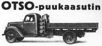 100 Wood Gasifier Truck Switching To A Biofuel At The Pinch Gas In Finnish