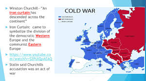 Iron Curtain Speech Cold War Definition by The Cold War Ppt Download