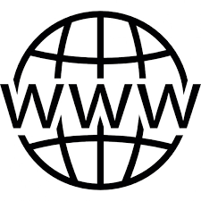 World Wide Web on grid Icons