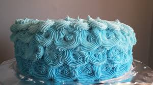 My Daughter s Blue Ombre Birthday Cake ⋆ Prudent Joy