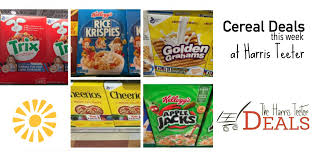 Cereal Deals Harris Teeter