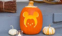 Disney Castle Pumpkin Pattern by Easy Pumpkin Carving Ideas For Halloween Disney Family