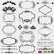 INSTANT DOWNLOAD Ornaments Wedding Design Elements Decorations Border Weddings Digital Clip Art Invitation Commercial WS409 Buy 1 Get Free By Sas