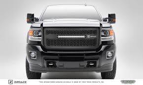 100 Grills For Trucks 20152019 Sierra HD ZROADZ Grille Black 1 Pc Insert Incl 1 20 LED PN Z312111
