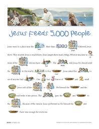 Jesus Feeds 5000 People
