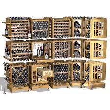 modulothèque rangement modulable en chêne massif pour le vin