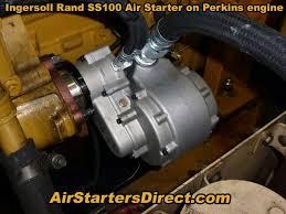 ingersoll rand air starter motor ss100p03r15 23 vane air starter by ingersoll rand