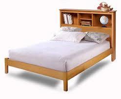 queen bookcase headboard platform bed woodworking plans on paper