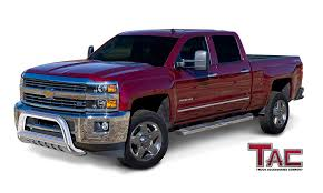 Amazon.com: TAC Bull Bar For 2011-2018 Chevy Silverado / GMC Sierra ... Modular Bull Bar Black Carbon Steel 072010 Chevy Silverado Brush Guard Opinions Truck Forum Gm Club 0713 1500 Gmc Sierra Led Lund 470214 Lvadosierra With Light And 2016 Chevrolet Rough Country Demo Vehicle Red 2018 I Added A Rough Country Bull Bar The Other Day But 062017 Chevygmc Bull Bar Battle Armor Designs Amazoncom Lund 271202 With Ingrated Ranch Hand Accsories Protect Your Jud Kuhn Lifttrucks Special Ops Youtube Barricade 3 In Stainless S1013 0718