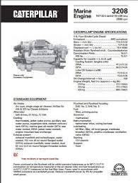 cat 3208 specs bolt torques manuals