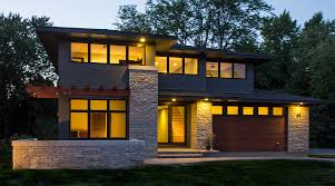 Prairie House Designs by Oak Brook House Plans House Exterior And