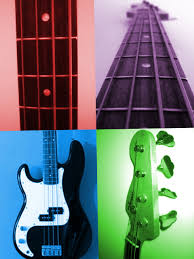 Bass Guitar Wall Art