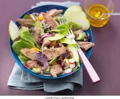 comment cuisiner les aiguillettes de canard salade d aiguillettes de canard montfort pomme verte et