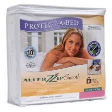 amazon com protect a bed 6 inch allerzip smooth mattress