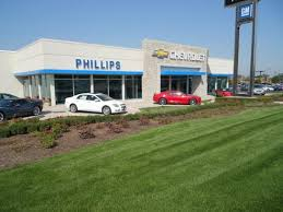 Phillips Chevrolet car dealership in Frankfort IL Kelley