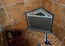 wedi shower systems 2 backer board ready for tile