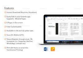 100 Words For Interior Design Proposal Template