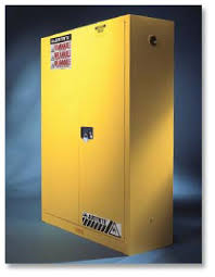 justrite sure grip ex flammable safety cabinet two self closing doors