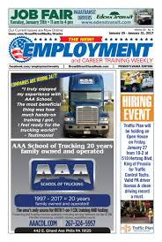 Employment Weekly PA 012517 By Broad Street Media - Issuu Elite Truck School Home Facebook Magazine 175 Go West 979 Trucking Mngmt Mack Aaa Driving Raceryt Youtube Missing Trucker Emerges From Wilderness After 4 Days Local A1 Cdl Mansas Va Crst Expited Recognizes Driver For 46 Years Of Service Ctc Offers Traing In Missouri Student Drivers 5 Ways Are Making Thanksgiving 2014 Possible Start A Career With At Swift Academy Roads Archives Newsroom Paper