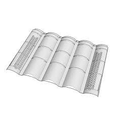 ohagins concrete tile vent type m 3d model formfonts 3d models
