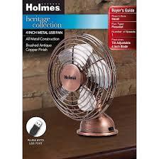 Oscillating Usb Desk Fan by Holmes Metal Desk Fan Usb Connected Small Bronze Hnf0466 Ct