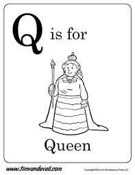Q Is For Queen But What Else Starts With