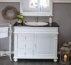waschtisch granitstein platte waschbeckenunterschrank mit