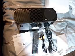 irulu projector 2600 lumens unboxing