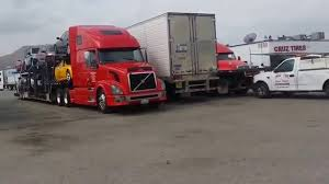 At The Truck Stop In Los Angeles California - YouTube