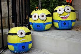 Minion Pumpkin Carving Designs by Minion Pumpkin Tutorial