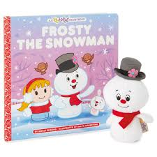 Frosty The Snowman Christmas Tree Ornaments by Itty Bittys Frosty The Snowman Stuffed Animal And Storybook Set