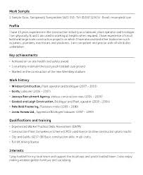 Resume Template Construction For Writing A Social Media Sample